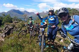 Trailcamp Schottland Ladies only