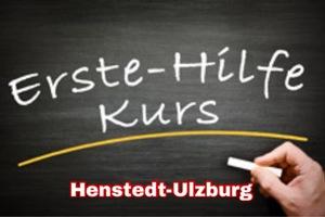 24.01.2021 - Erste- Hilfe-Kurs Henstedt-Ulzburg -