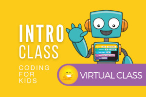 Intro Class | Coding for Kids | Virtual Class