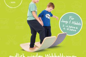 Wobbelturnen® Kids (2-6) nachmittags ab 02.12.