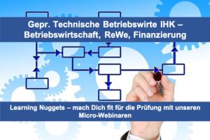 Fit für die Prüfung - Technisch Betriebswirte IHK (m-w-d) - Rechnungswesen, BWL